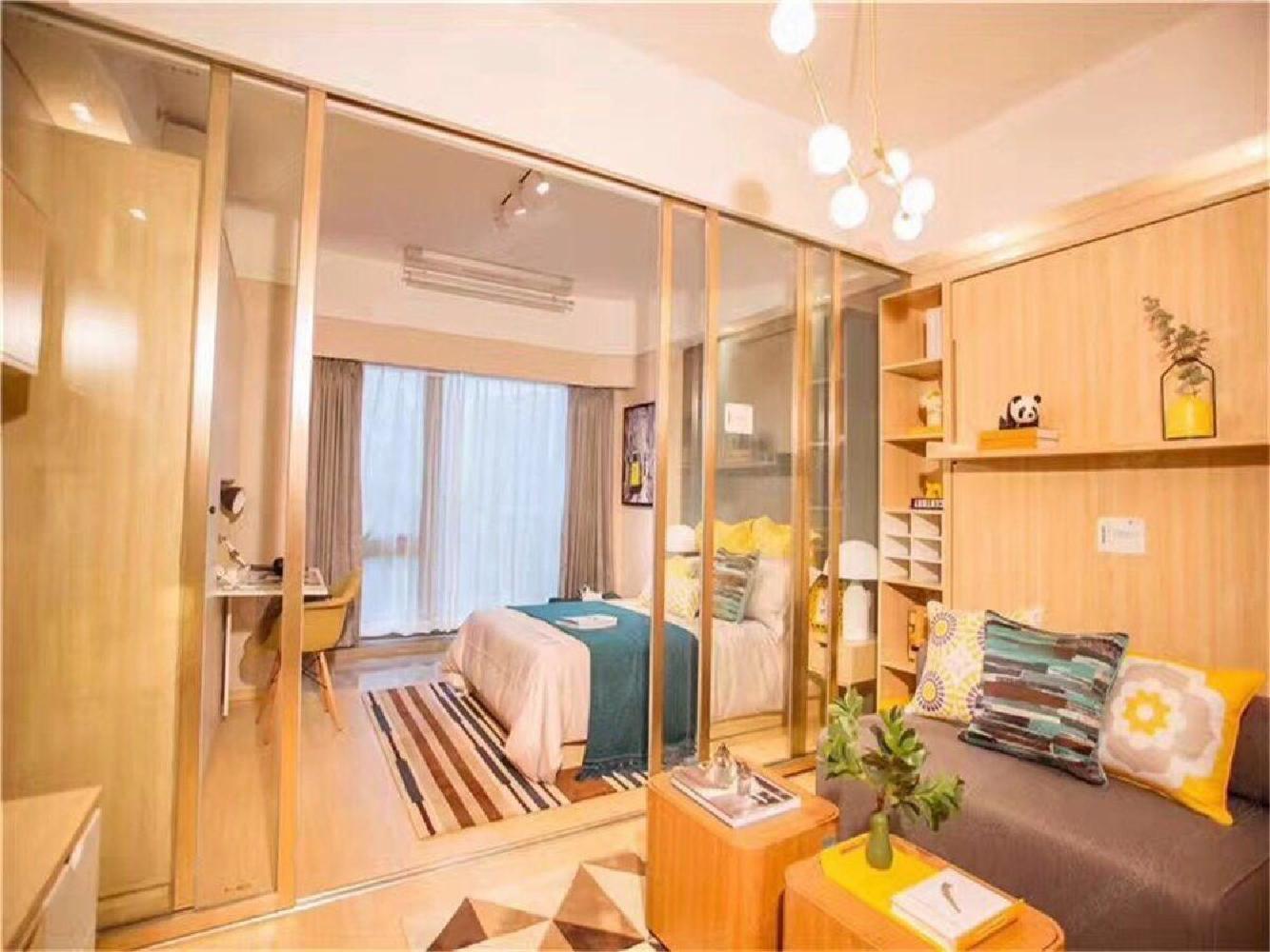 70年住宅 精装1室1厅带阳台 双高桥学校 总价85万地铁口