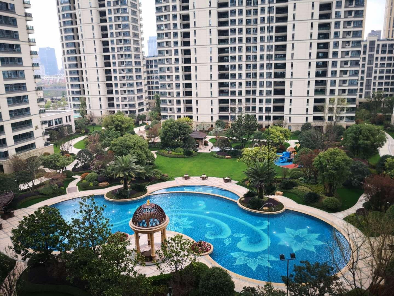 绝对品质楼盘江南之星,89方3房2厅2卫,2大游泳池,一流绿化,一流物业