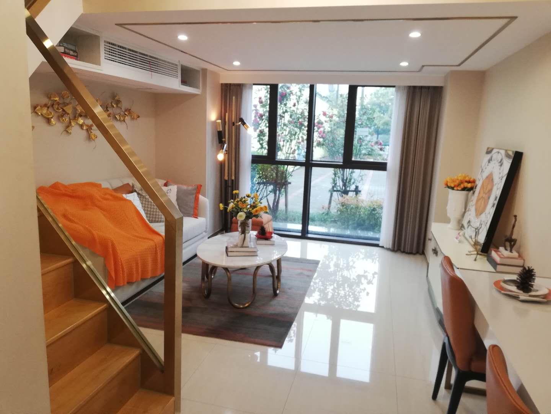 萧山火车南站精装修4.48米层高loft公寓,两房两厅在售