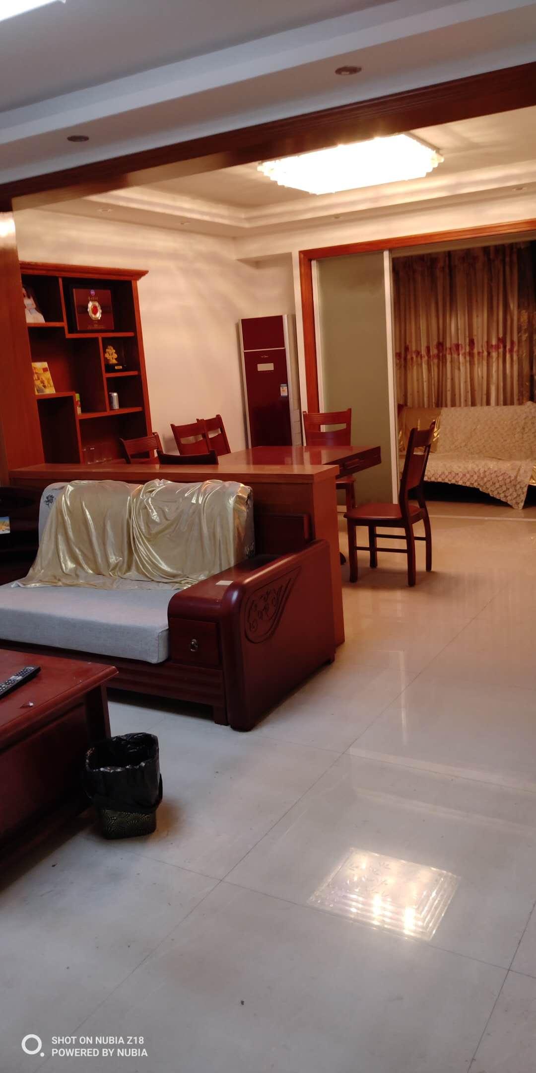 临浦浴美苑镇小、三房二厅、精装修、家电齐全、楼层佳、诚售