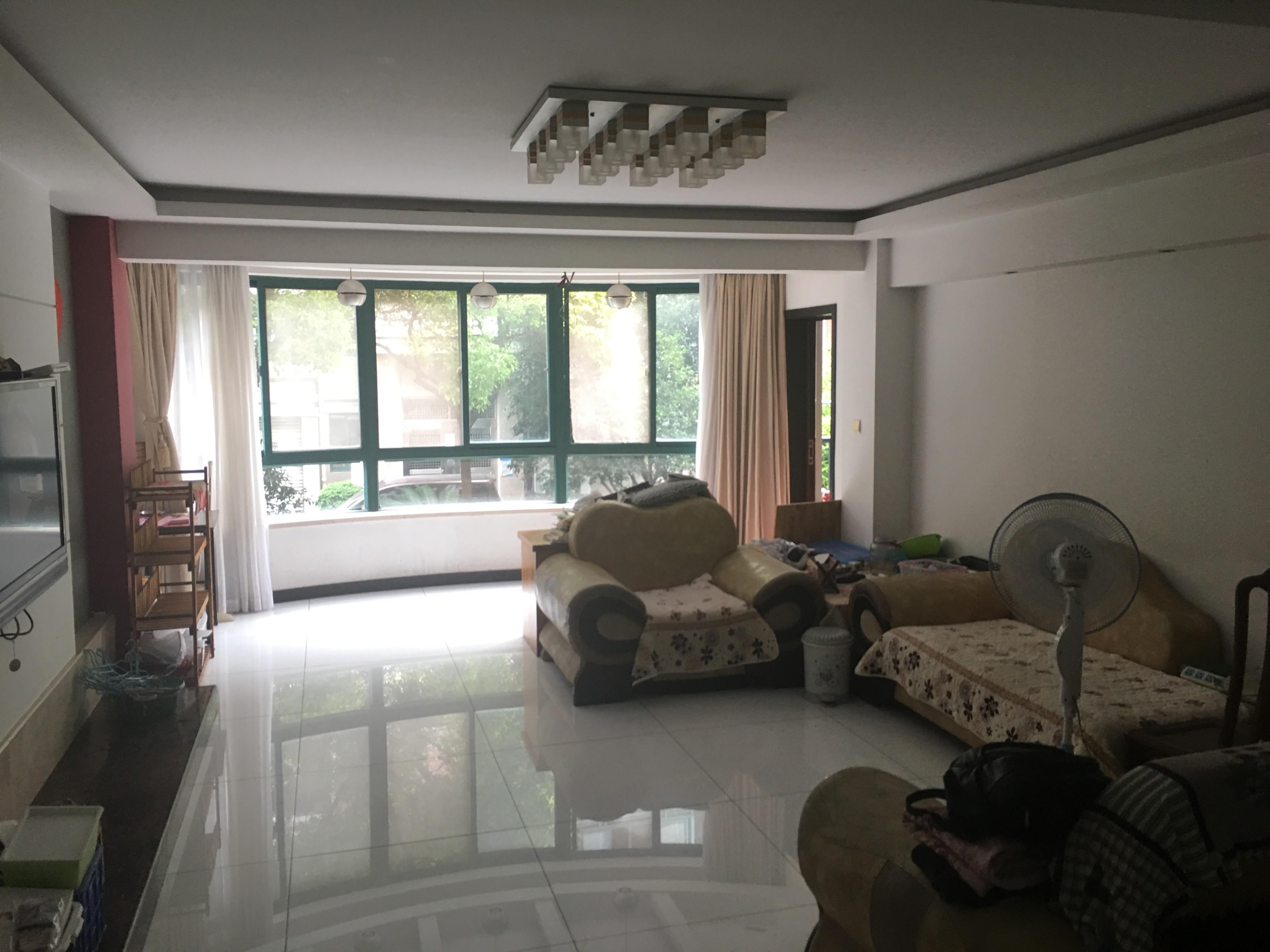 出租:金浦名苑精装修多层170方四房,只租5800月有钥匙