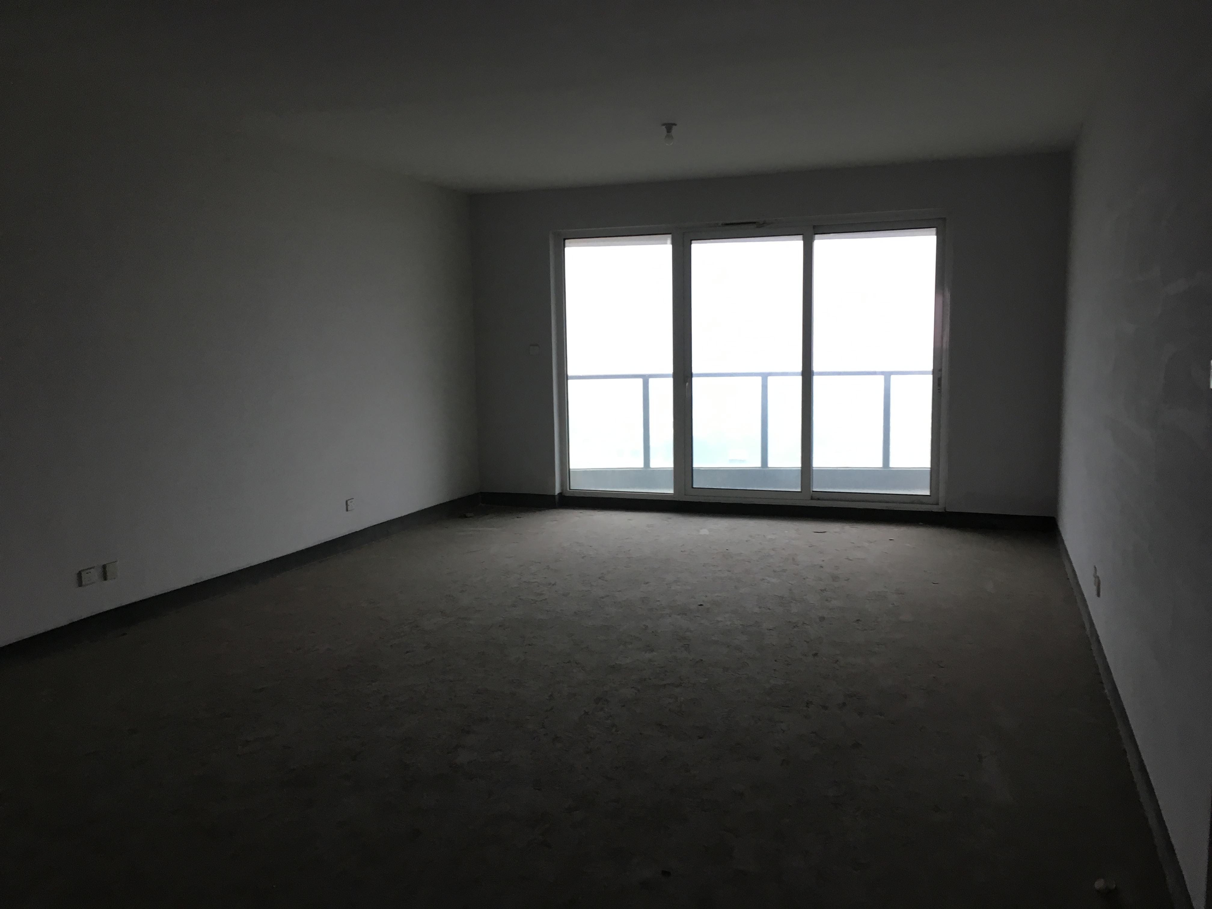 诚售绿都滨花园246方毛坯房,四房二厅三卫二个超级大阳台,大平层有钥匙