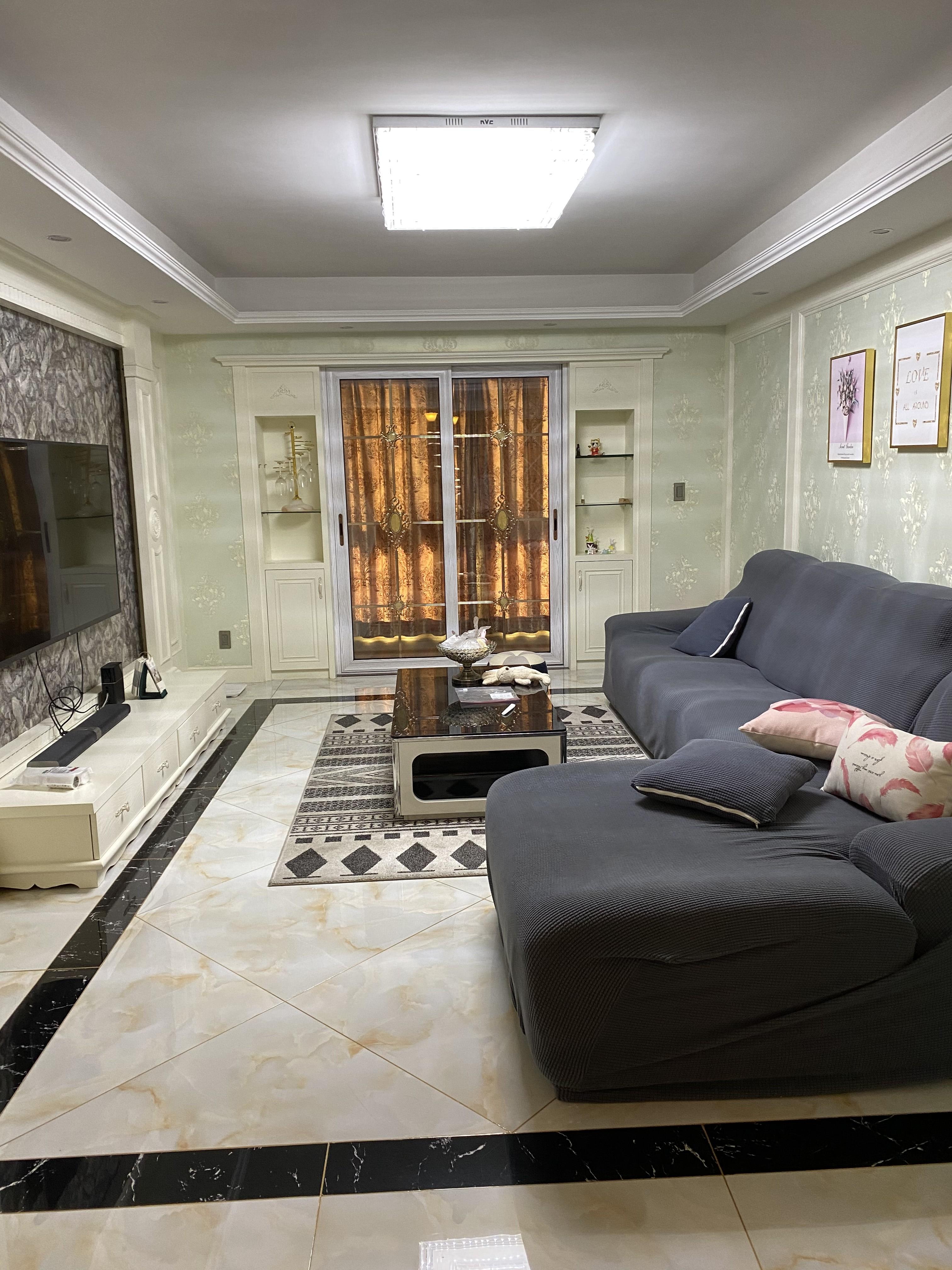 临浦香格名苑115方,豪华装修只卖220万,黄金楼层,无增值税,临浦镇小、镇中学区房