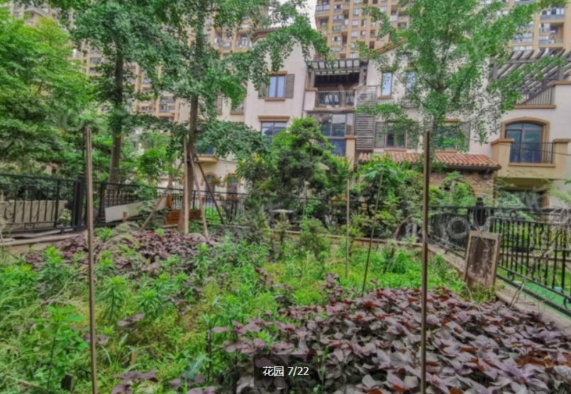 钱江世纪城亚运村,顺发康庄排屋,环境优美 带前后花园70多