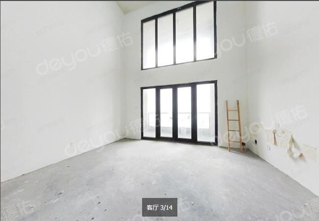 一线江景 稀缺顶跃 毛坯245方 诚售620W