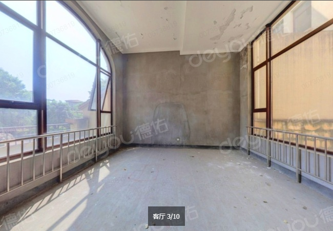 亚运村旁 一线江景房 地下一层 地上三层 有天有地有花园 毛坯339方 诚售1000W