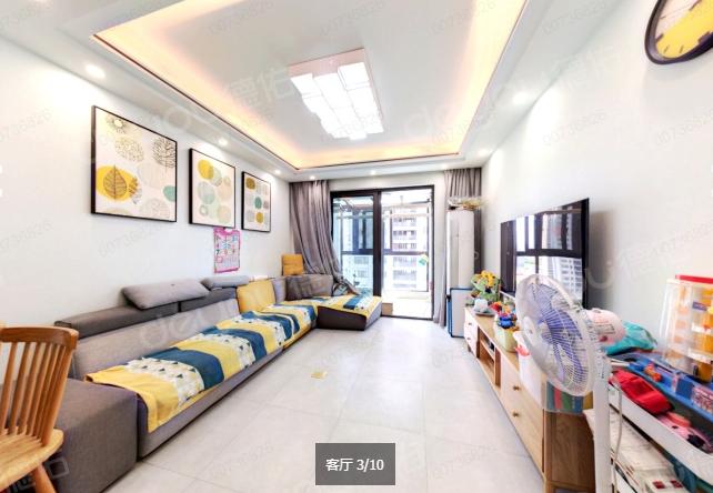 世纪城西门位置 中间套,客厅带阳台,采光好,使用面积多